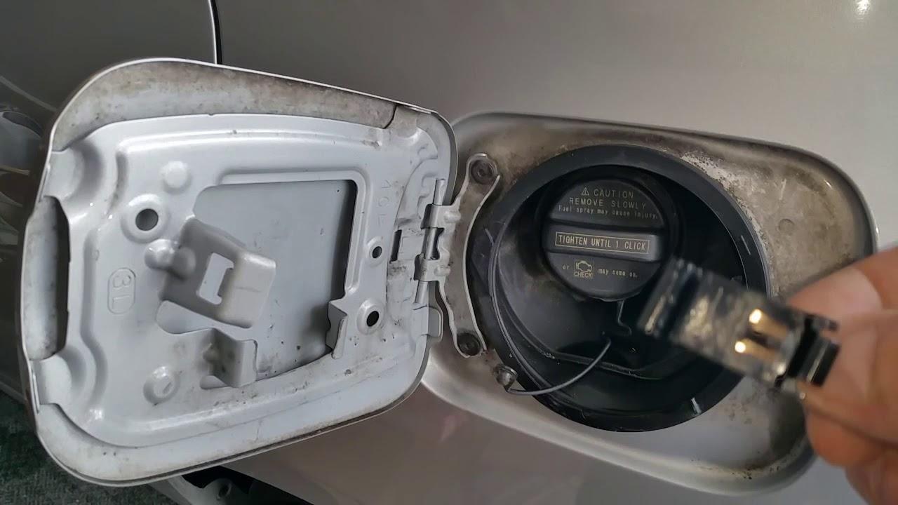Fix Toyota Fuel Door Spring Youtube