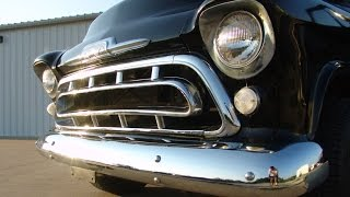 1957/58 Chevrolet Pickup Truck On A Newer Frame & Suspension! Fun & Comfrotable!