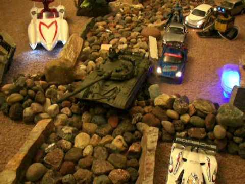 Rc tanques de guerra youtube for Criadero de cachamas en tanques