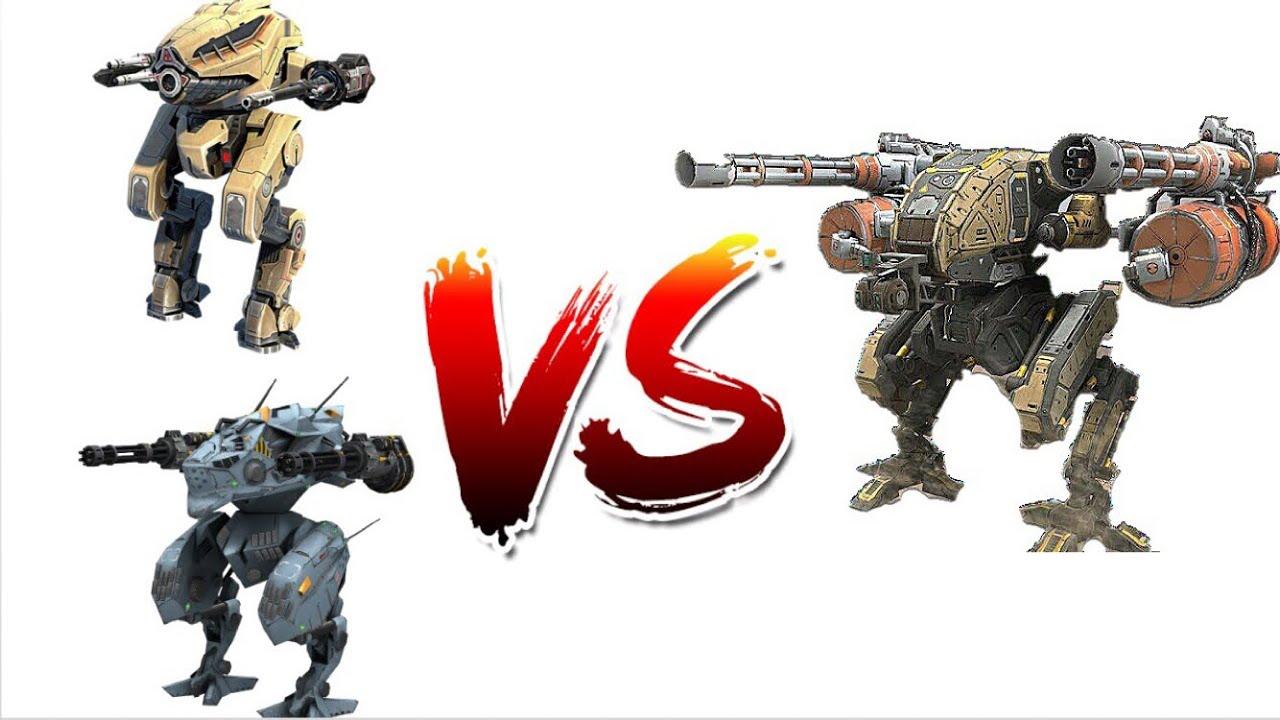 War Robots vs Battle of Titans: Light Robots [Comparison]