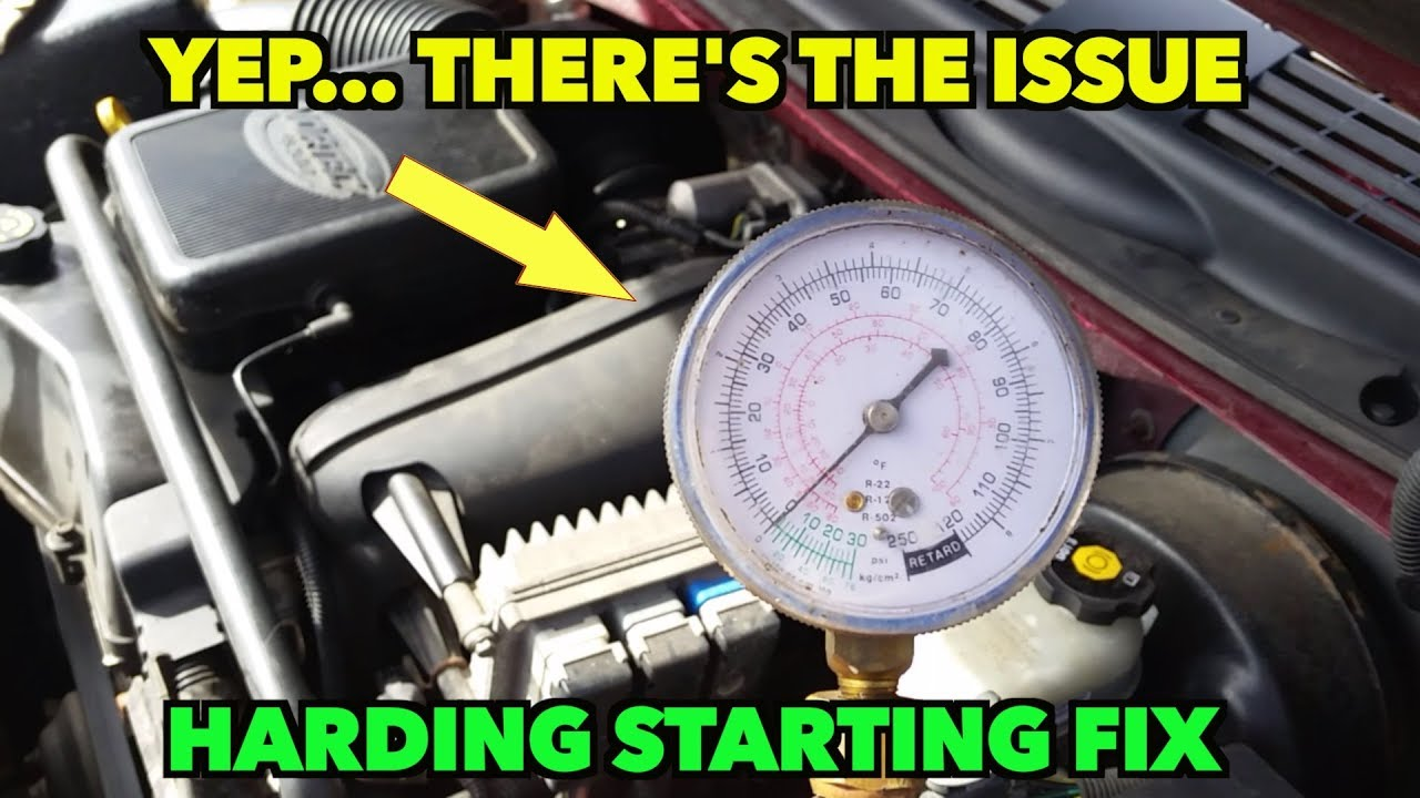 Hard Starting Trailblazer Fuel Pressure Testing Bingo And