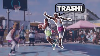 TRASH TALKER gets EXPOSED at VENICE BEACH! FIGHT?!