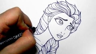 Drawing Elsa (Disney