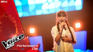 The Voice Kids Thailand - มิกกี้ บุญญิษา - ด.ญ. ปรางค์ - 7 Feb 2016