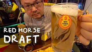 Red Horse Draft (Draught) San Miguel in Korea | 8% ABV Beer