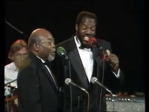 "Golden Gate Quartet LIVE 1993 "" I WANT TWO WINGS """