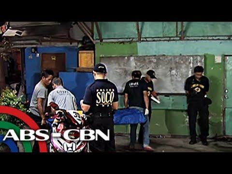 TV Patrol: Umano'y drug pusher, patay sa pamamaril sa Mandaluyong