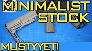 MFT Minimalist Stock :: 3lb AR Build pt.1 :: Musty Yeti