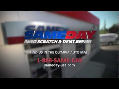 Sameday Auto Scratch and Dent Commercial- Professional Scratch and Dent Repair Done in One Day!