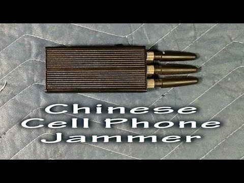 Cell Phone Jammer Teardown.