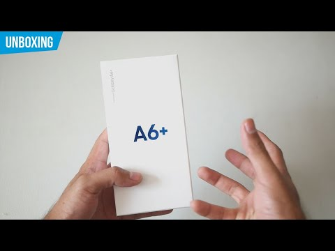 Samsung Galaxy A6+ | Unboxing en español