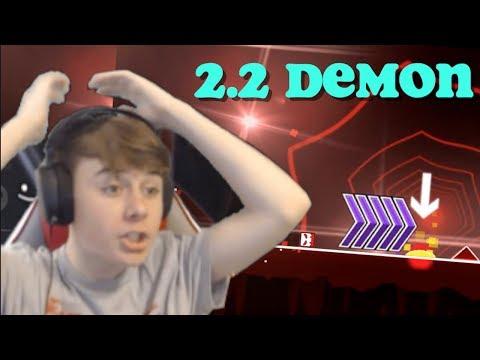 What Geometry Dash 2.2 Demons Will Look Like! - Future Dash #2