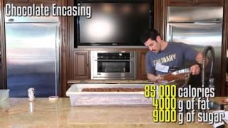 100 фунтовый шоколадный батончик - Epic Meal Time (Кузьма)