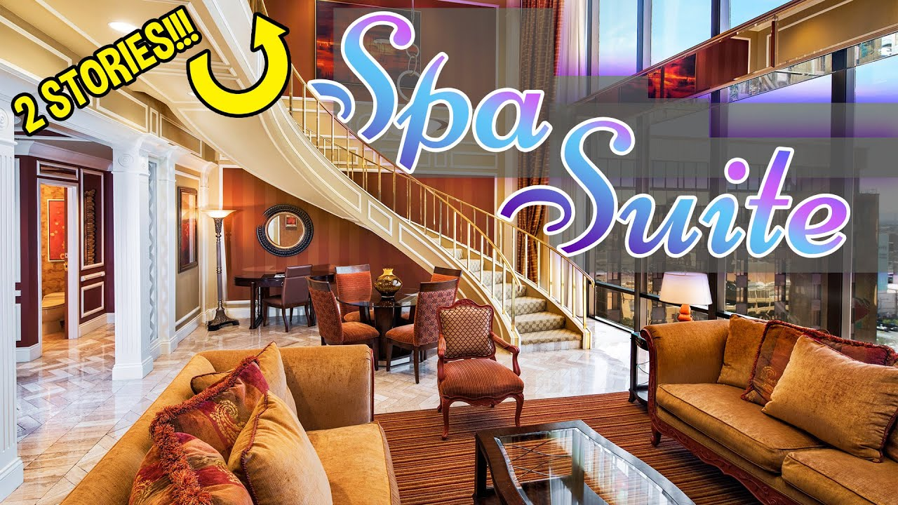 Golden Nugget Spa Tower Suite Youtube