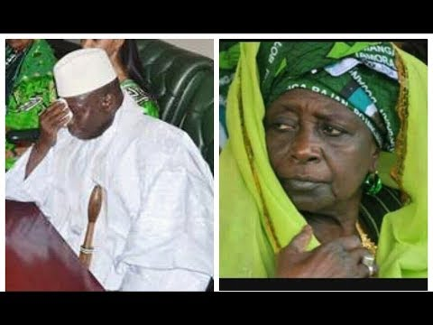 Between Yahya Jammeh and His Mother Fatou Asobi Bojang 😭😭