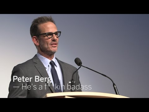 PETER BERG He's a f **kin badass  TIFF 2016