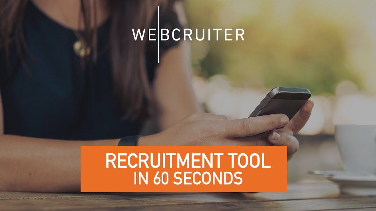 webcruiter log in