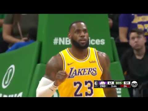 RESUMEN COMPLETO   LA Lakers vs Boston Celtics   Temporada NBA   8-2-2019