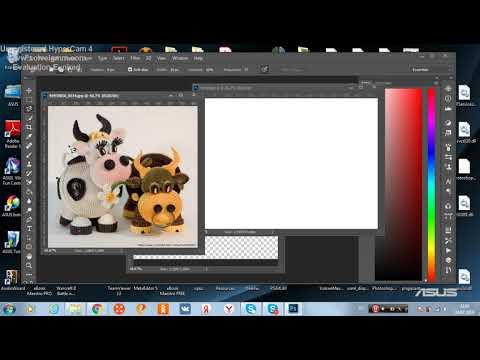 Как сделать белый или прозрачный фон у файла в Фотошопе?