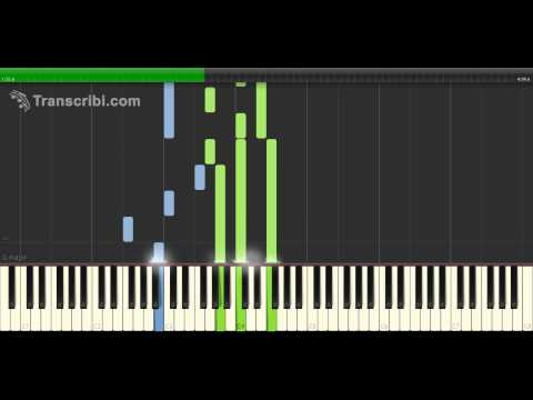 Christina Perri – The Words (How To Play On Piano Tutorial)