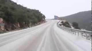 снег в Анталии
