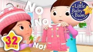No No No! New Clothes | Plus Lots More Nursery Rhymes | 32 Minutes Compilation from LittleBabyBum!