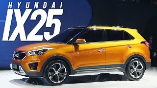 Hyundai ix25, rival do EcoSport lan ado na China