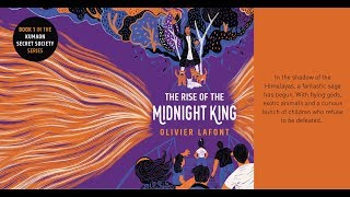 'The Rise of the Midnight King' book trailer