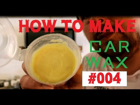 homebrew car wax - how to make a car wax Part 4