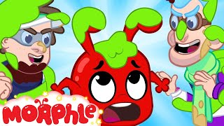 SLIME! Morphle Gets Slimed - My Magic Pet Morphle | Cartoons For Kids | Morphle TV | BRAND NEW