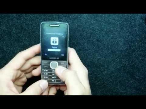 Как разблокировать SAMSUNG GT-S5610