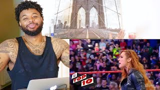 WWE Top 10 Raw moments February 11, 2019 | Reaction