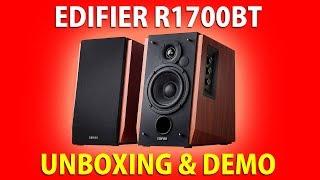 EDIFIER R1700BT • UNBOXING & DEMO