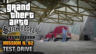 GTA San Andreas Remastered - Mission #62 - Test Drive (Xbox 360 / PS3)