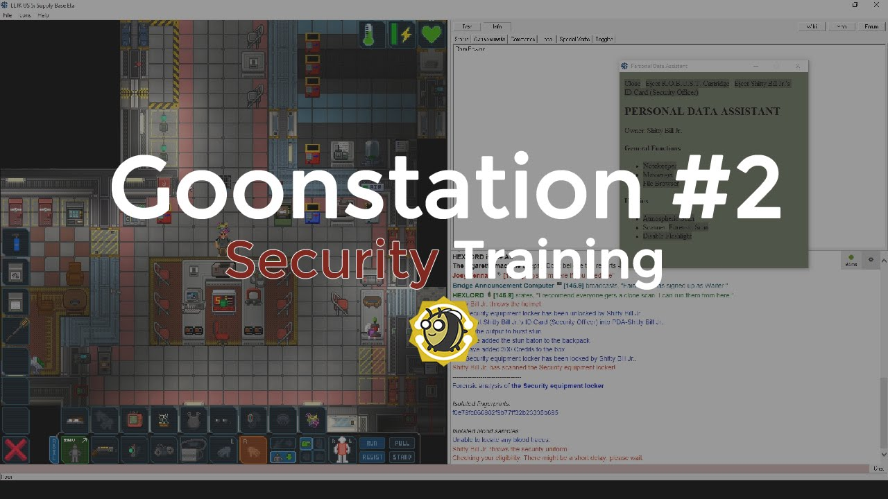 SS13 - Goonstation #2 (Security Training)
