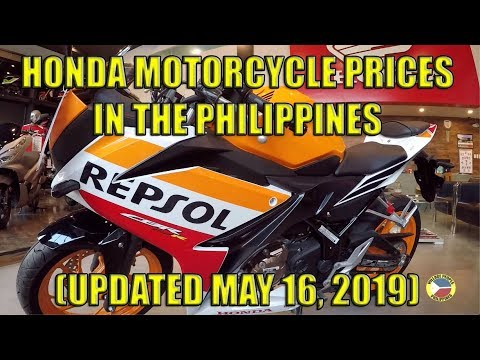 Honda Motorcycle Prices in the Philippines. (Updated May 16 2019)