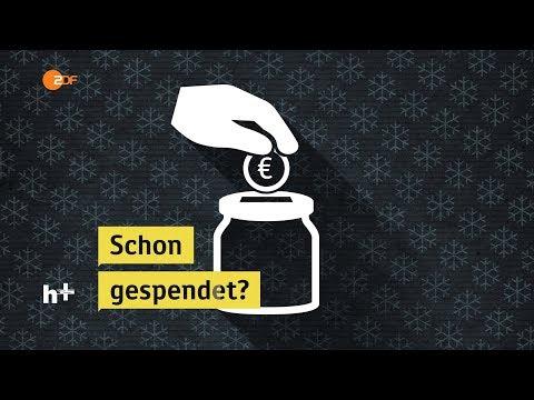 Schon gespendet? - heuteplus | ZDF