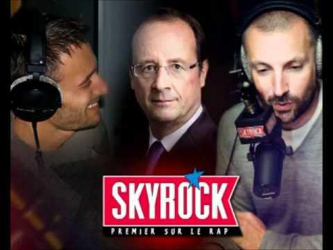 François Hollande Répond Au Question De Difool & Fred De Skyrock