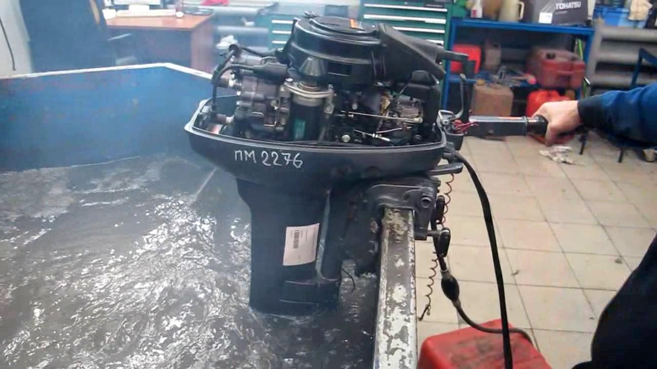 Мотор лодочный Yamaha 40 QEM, б/у 1994 г.в. - YouTube