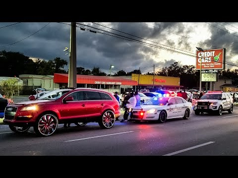 IT'S ALL OVER...Florida Police Shuts Down Donk Show