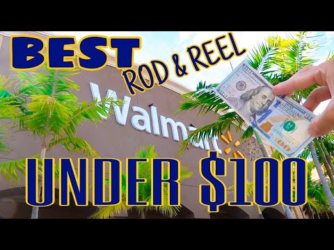 BEST WALMART Rod & Reel COMBO For UNDER $100
