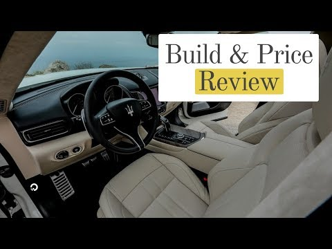 2019 Maserati Levante GranSport Q4 SUV - Build & Price Review: Colors, Features, Packages, Wheels