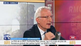 """Guillaume Pepy: """"Grâce à Ouigo, le prix moyen payé par les Français dans le TGV baisse"""""""