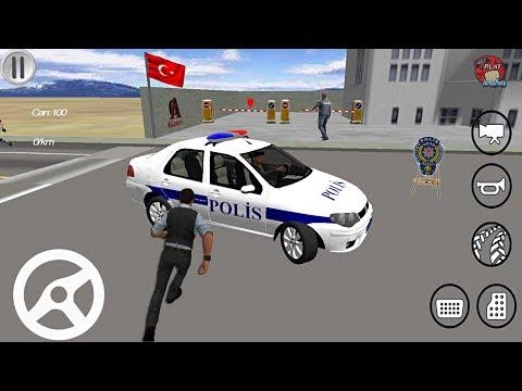 FİAT Albea TÜRK Polis Arabası Oyunu // Polis Simulator Oyunu - Android Gameplay FHD