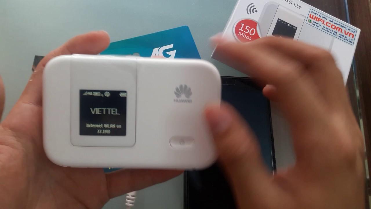 Review Modem Wifi 3G/4G LTE Huawei E5372