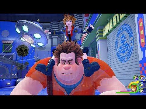 KINGDOM HEARTS 3 - Toy Story World Gameplay @ 1440p (60ᶠᵖˢ) HD ✔