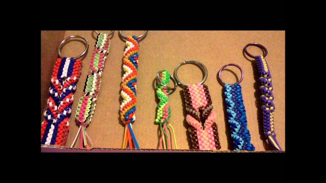 Craft Lace Keychain Ideas