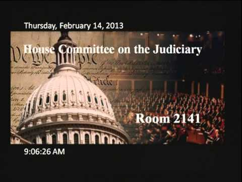 Original Meeting: Adopt the Judiciary Committee Oversight Plan for the 113th Congress