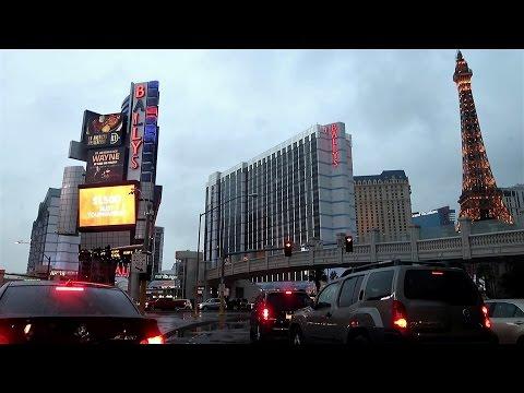 Rainy December Day in Las Vegas