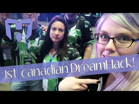 1ST DREAMHACK IN CANADA!!! Doing 1vs1 for Intel & Asus in Montreal! (PART 1)
